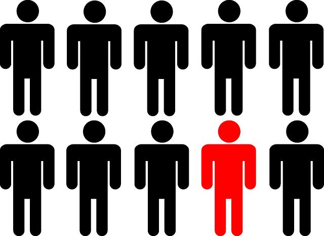 差別化で目立つ