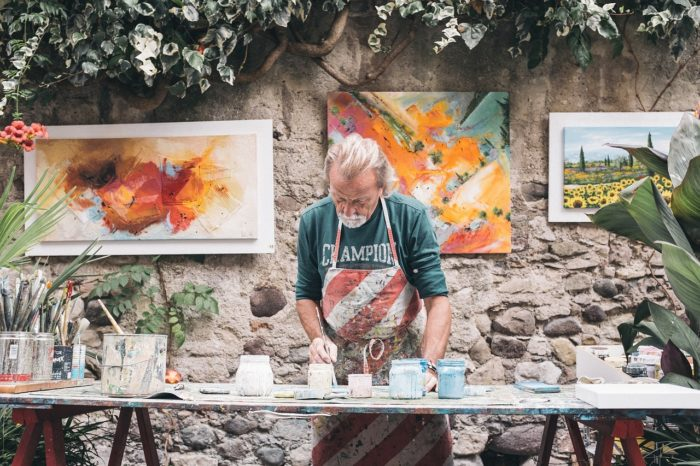 プロの画家