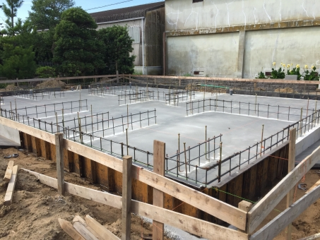 建物の基礎工事