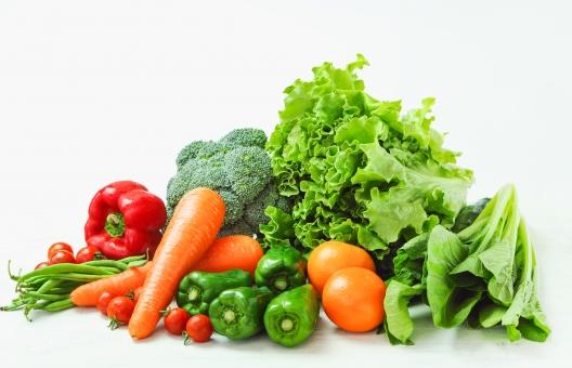 数多くの野菜
