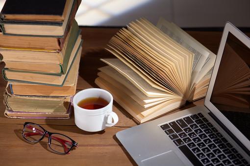 パソコンと古書