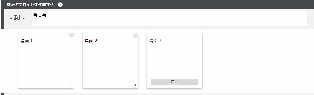 Nola プロット構成と場面の詳細