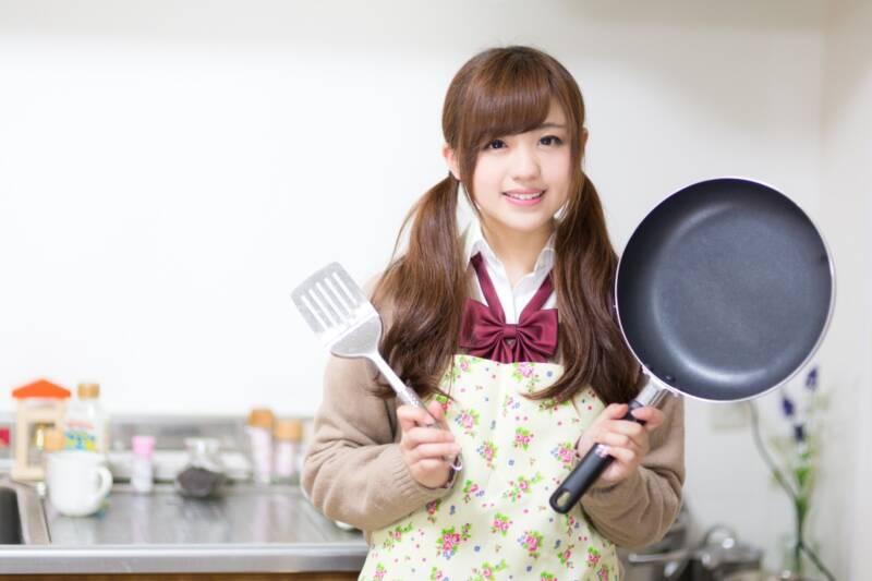 料理好きの女子高生