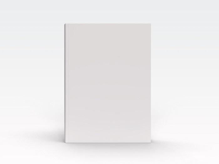 1冊の白い本